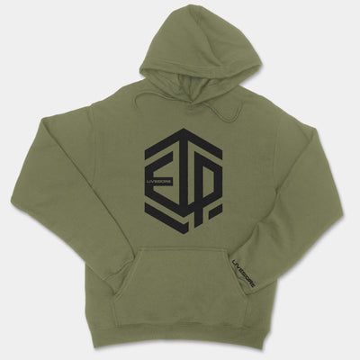 Embrace The Pain ETP - Pullover Unisex Hoodie (Green)