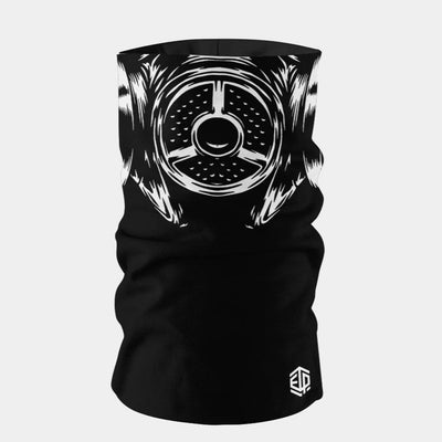 """ICE COOL"" FACE SLEEVE BUFF - GAS MASK"