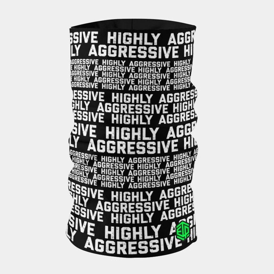 """ICE COOL"" FACE SLEEVE BUFF - HIGHLY AGGRESSIVE"