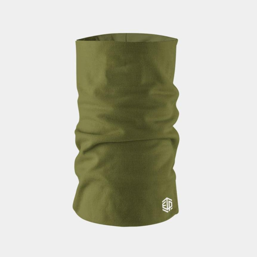 """ICE COOL"" FACE SLEEVE BUFF - MILITARY GREEN"
