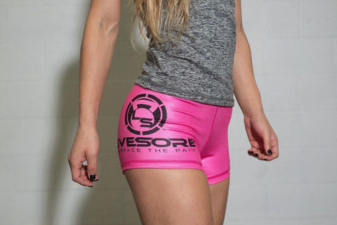 Pink LiveSore Booty Shorts *FLASH SALE*
