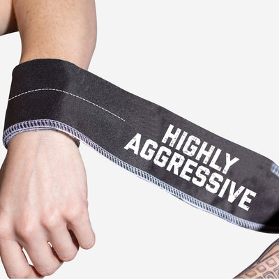 HIGHLY AGGRESSIVE V2 Tie Wrist Wraps