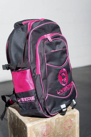 Pink LiveSore Backpack