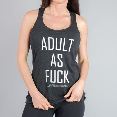Adult As Fuck Tank