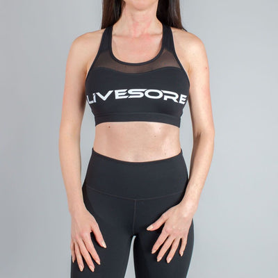 Black Onyx LiveSore Sports Bra