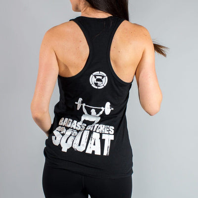 Badass Bitches Squat Tank Tops