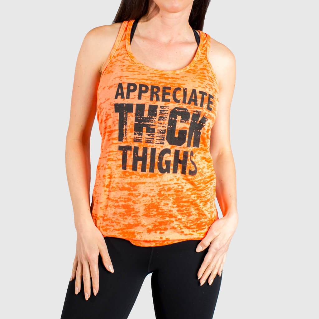 f0ac2c52cee7 Appreciate Thick Thighs Gym Tank Tops