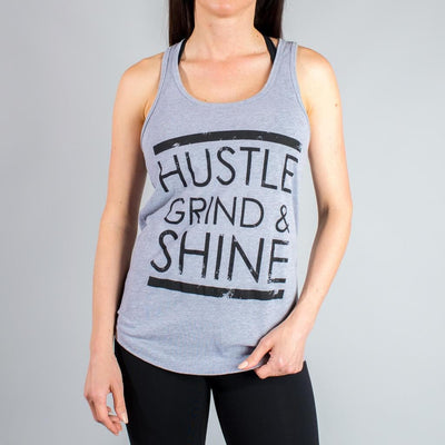 Hustle, Grind & Shine Tank Tops