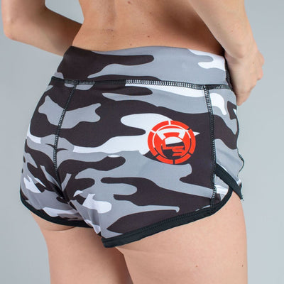 Black Arctic Camo Speed Shorts