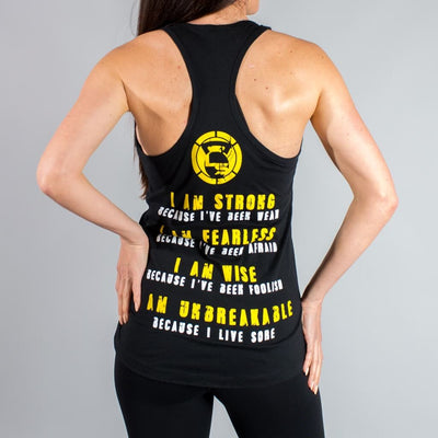 I AM STRONG Tank Tops