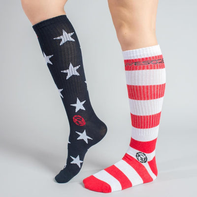 FREEDOM Stars & Stripes Crew Socks