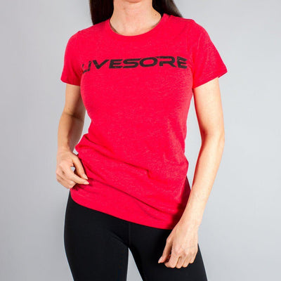 Highly Aggressive Women's Red T-Shirt