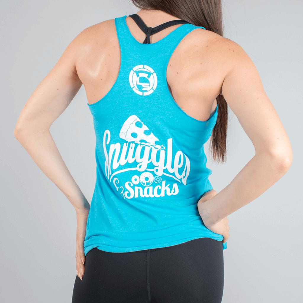 Weekend Vibes Snuggles & Snacks Tank-Womens Apparel,Womens Tanks-Livesore.net