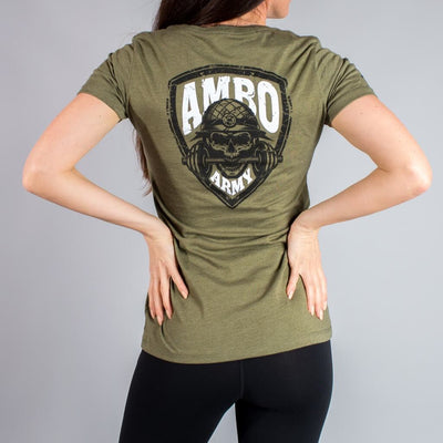 AMBO ARMY Skull Women's T-Shirt