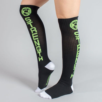 Savage Strength Crew Socks