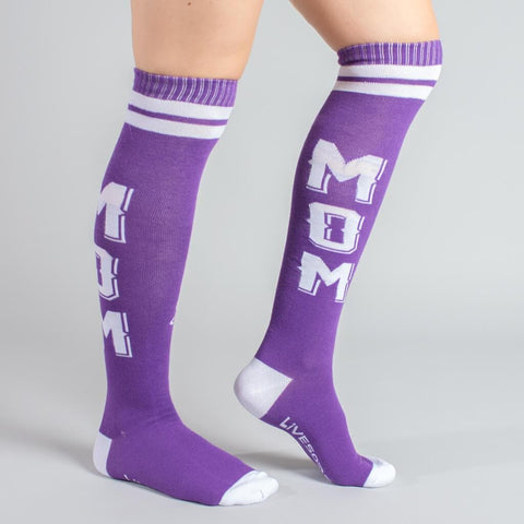 Mom Strength Knee-High Socks