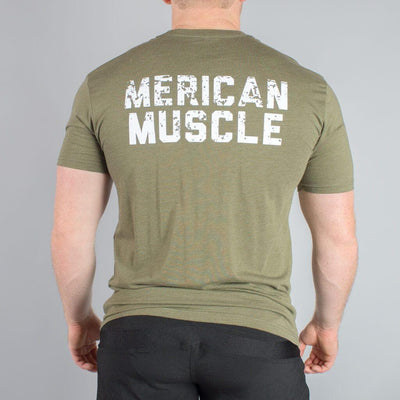 Merican Muscle T-Shirt