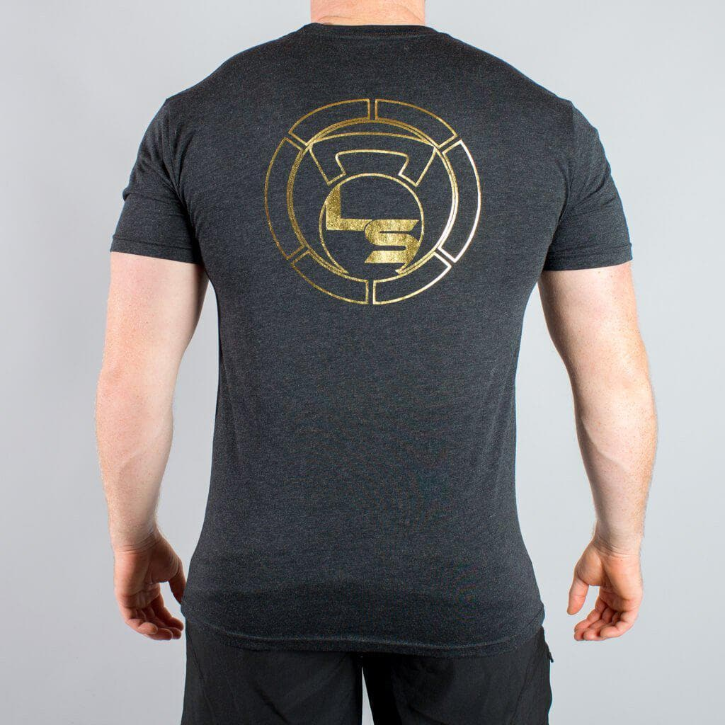 "Gold Foil ""TARGET"" T-Shirt-Mens Apparel,Mens T-Shirts-Livesore.net"