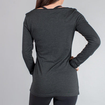 Women's Long Sleeve Scoop Neck Shirt