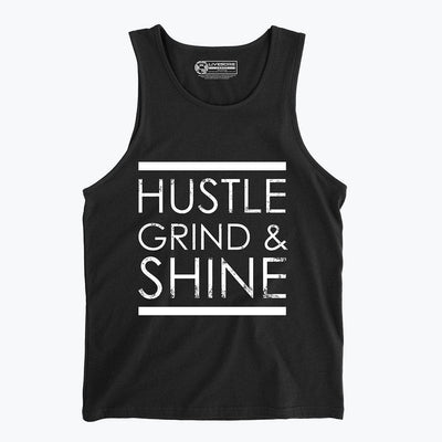 Hustle, Grind & Shine Men's Tank Top