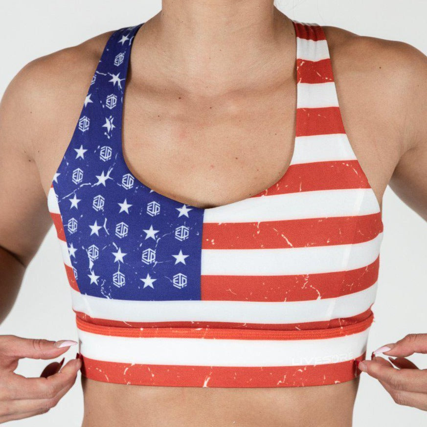FIRE Bra - USA Flag