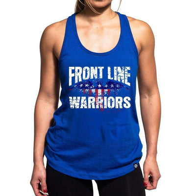 FRONT LINE WARRIORS + FREE FACE MASK Women's Tank Top