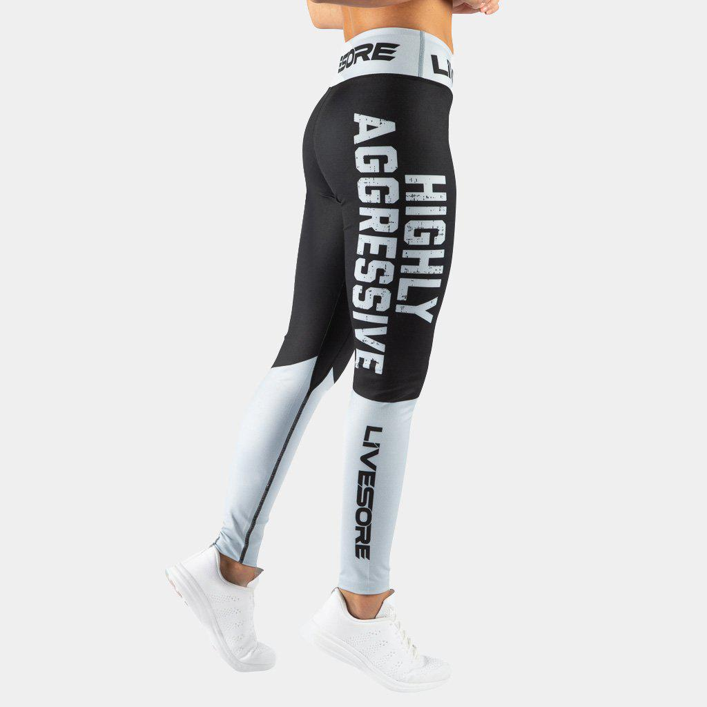 FIRE Booty Leggings - HIGHLY AGGRESSIVE