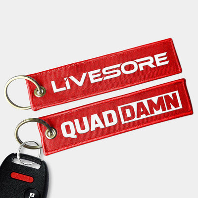 QUAD DAMN Key Chain