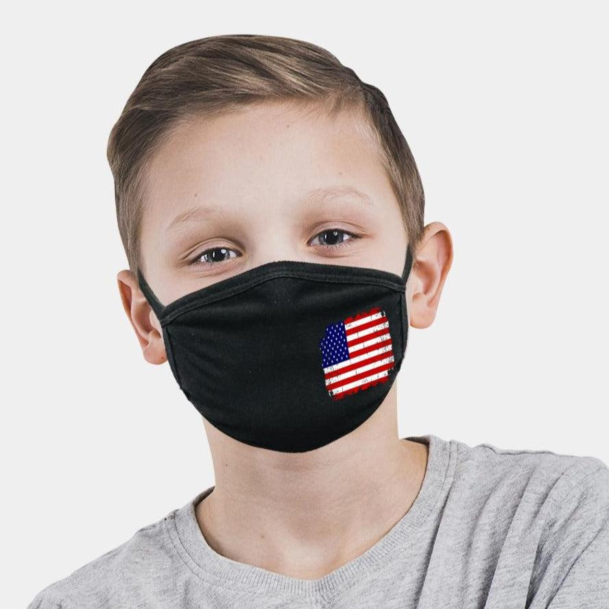 KID'S FACE MASKS 2-Layer