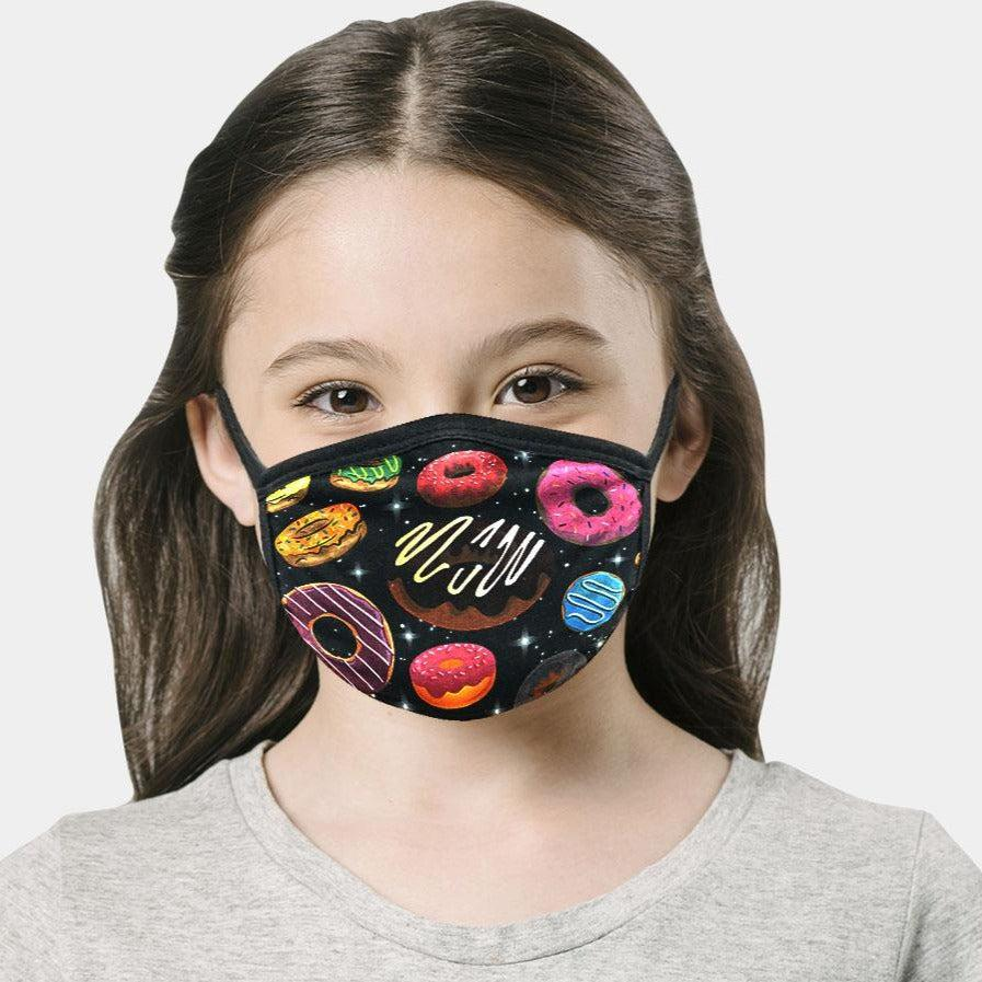 KID'S DESIGNER FACE MASK 2-PACK