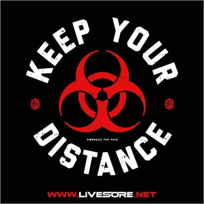 KEEP YOUR DISTANCE  Sticker 5-Pack