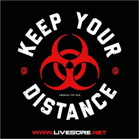 KEEP YOUR DISTANCE  Sticker 5 Pack