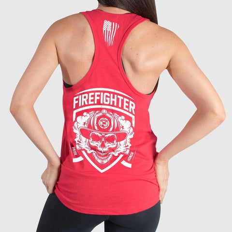 FIRE FIGHTER Support Tank Top