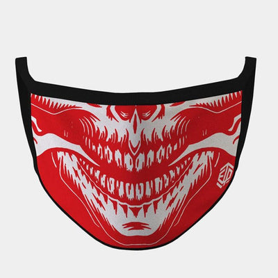 FIRE BREATHER 4-LAYER FACE MASKS