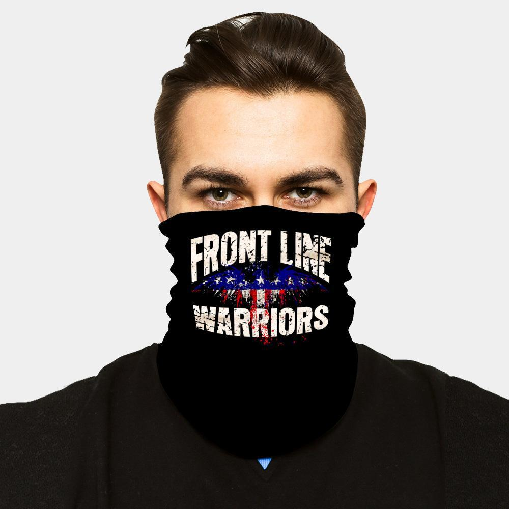 """ICE COOL"" FACE SLEEVE BUFF - FRONT LINE WARRIORS"