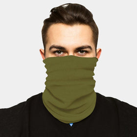 FACE SLEEVE BUFF - MILITARY GREEN