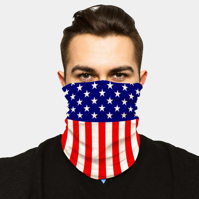 FACE SLEEVE BUFF - USA FLAG