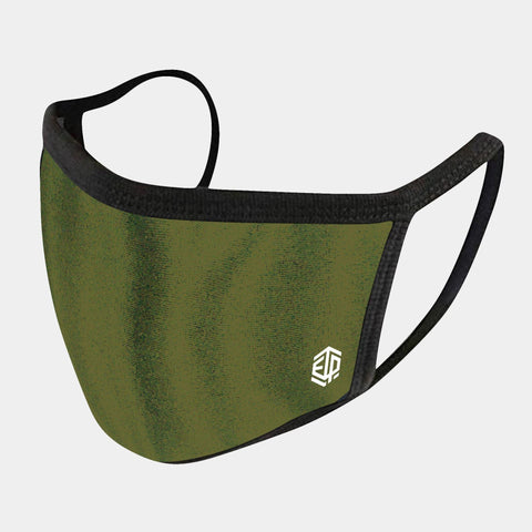 MILITARY GREEN 4-LAYER FACE MASKS