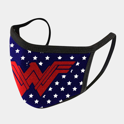 WONDER WOMEN 4-LAYER FACE MASKS