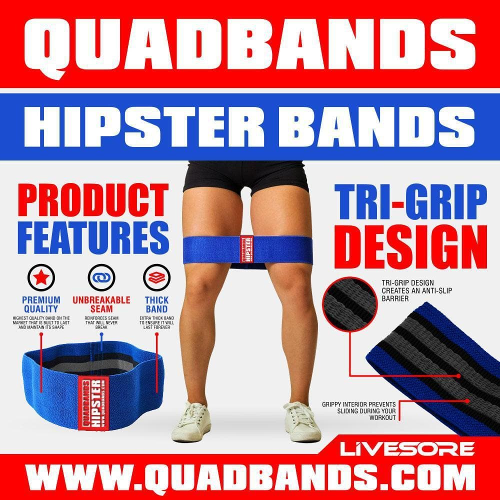 "QUAD BAND ""Hipster"" Mobility Bands-Accessories-Livesore.net"