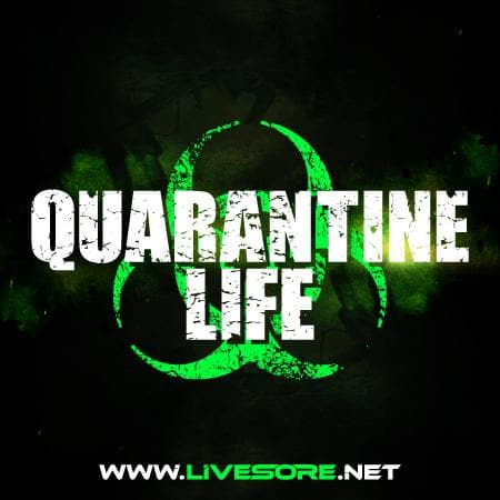 QUARANTINE LIFE Sticker 5 Pack