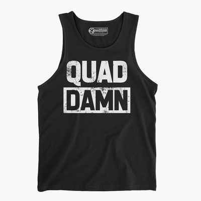 QUAD DAMN Men's Tank Top
