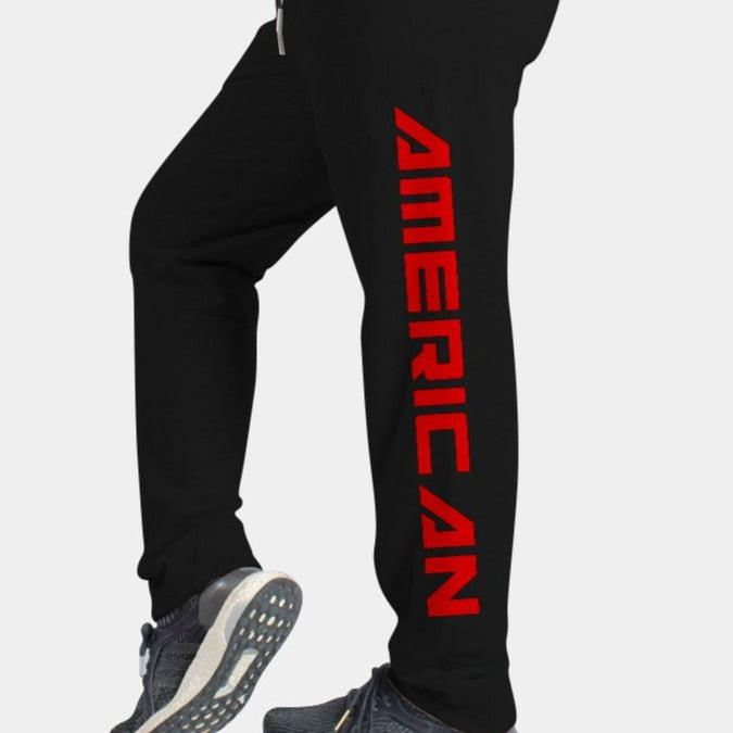 RED BLOODED AMERICAN Sweatpants-Mens Apparel,Mens Pants-Livesore.net