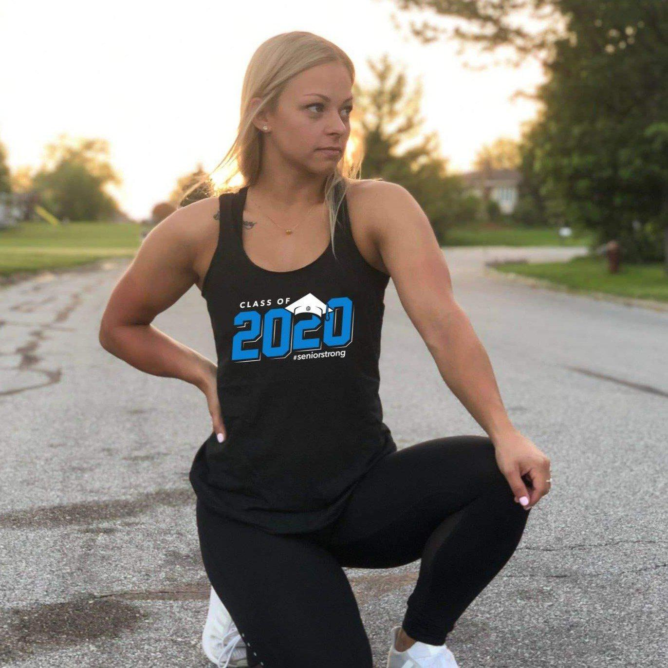 CLASS OF 2020 Tank-Womens Apparel,Womens Tanks-Livesore.net