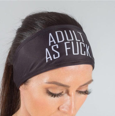 Adult As Fuck HeadBand