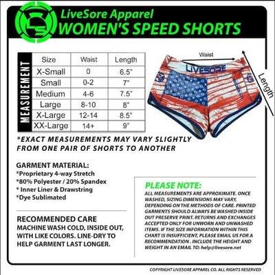 POLICE 1st Responder Speed Shorts