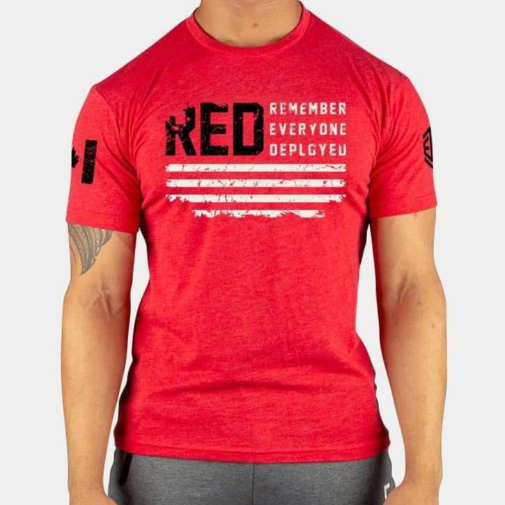 RED Remember Everyone Deployed T-Shirt