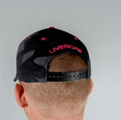 "Camo ""PINK SHIELD"" Curved Bill Hat"