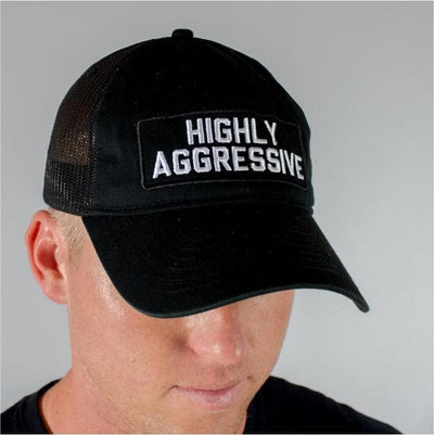 HIGHLY AGGRESSIVE Hybrid Soft Trucker Hat