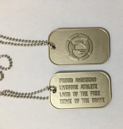 LiveSore Dog Tags